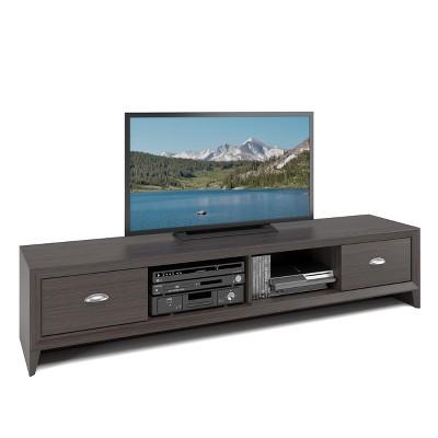 "Lakewood Extra Wide TV Bench Modern Wenge 80"" - CorLiving"