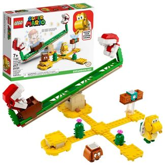 LEGO Super Mario Piranha Plant Power Slide Expansion Set Collectible Toy for Creative Kids 71365