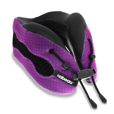 Cabeau® Evolution Cool™ Memory Foam Travel Pillow - Cosmos Purple