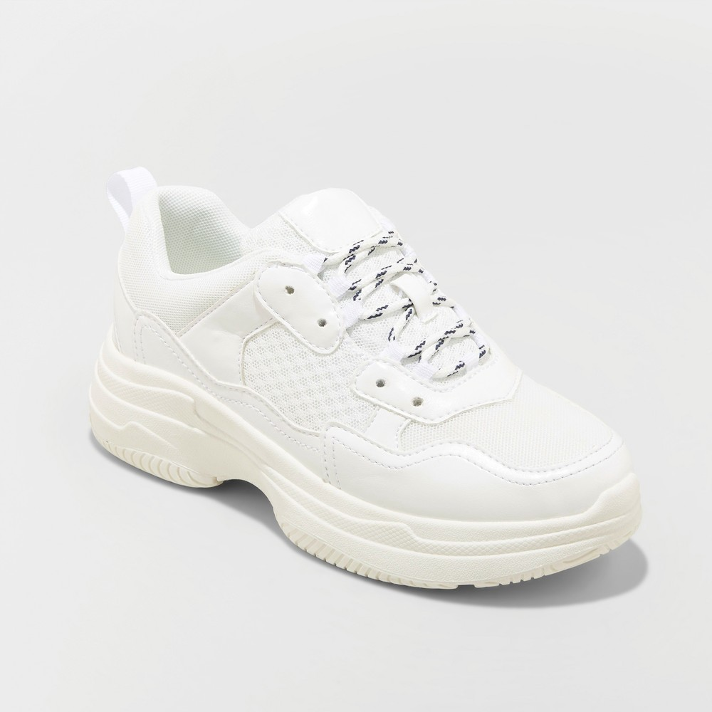 Women's Maybelle Bulky Sneakers - Wild Fable White 12