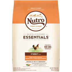 Nutro Wholesome Essentials Adult Chicken & Rice Dry Dog Food - 30lb