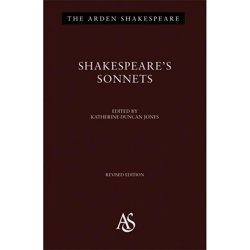 Shakespeare's Sonnets - (Arden Shakespeare Third (Hardcover)) by  William Shakespeare (Hardcover) - image 1 of 1