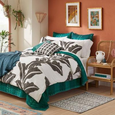 Mariposa Bed in a Bag Comforter & Sheets Set Botanical Leaf Print - Opalhouse™ designed with Jungalow™