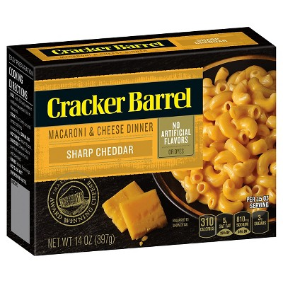 cracker barrel sharp cheddar mac and cheese