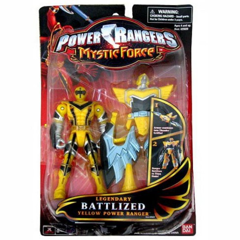 Power Rangers Mystic Force Legendary Battlized Yellow Power Ranger Action Figure - image 1 of 1