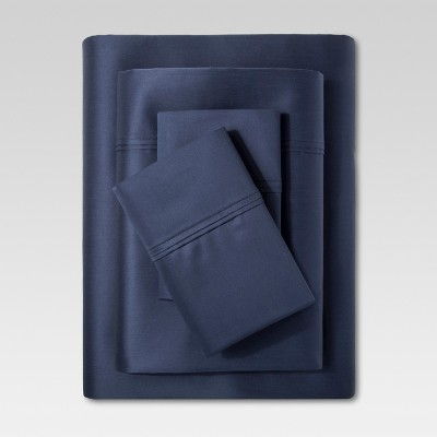 Performance Sheet Set (California King)Metallic Blue 400 Thread Count - Threshold™