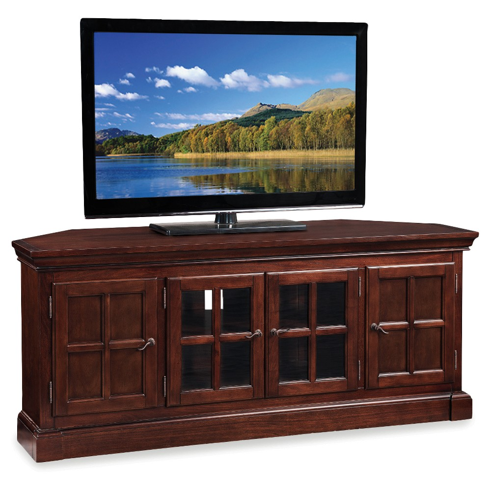 TV Stand Chocolate (Brown) - Leick Home