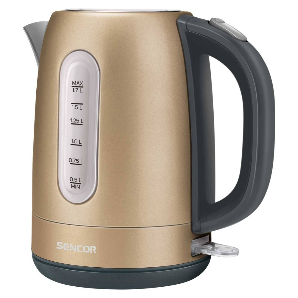 Sencor 1 7l Stainless Electric Kettle Charcoal