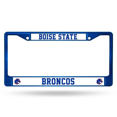 NCAA Boise State Broncos Colored Chrome Frame - image 1 of 1