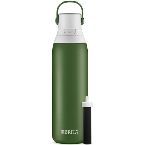 Brita 20oz Premium Double-Wall Stainless Steel Insulated Filtered Water Bottle - image 1 of 4