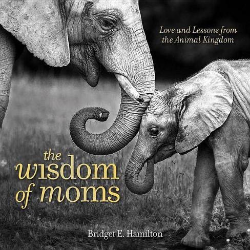 The Wisdom of Moms - by  Bridget E Hamilton (Hardcover) - image 1 of 1