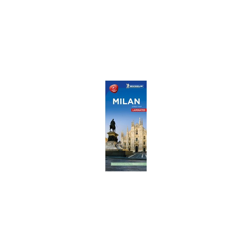 Michelin Milan City Map (Paperback)