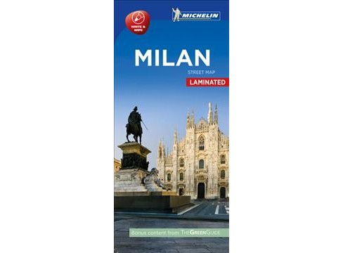 Michelin Milan City Map (Paperback) - image 1 of 1