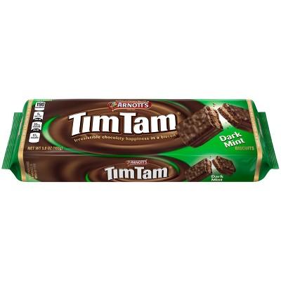 Arnott's Tim Tam Dark Mint Cookies - 5.8oz