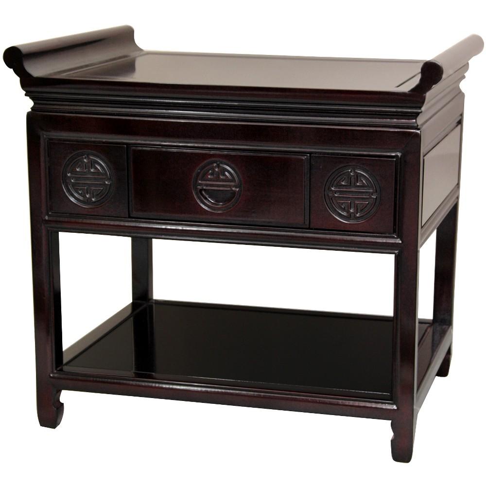 Rosewood Altar Table Rosewood Black Walnut - Oriental Furniture