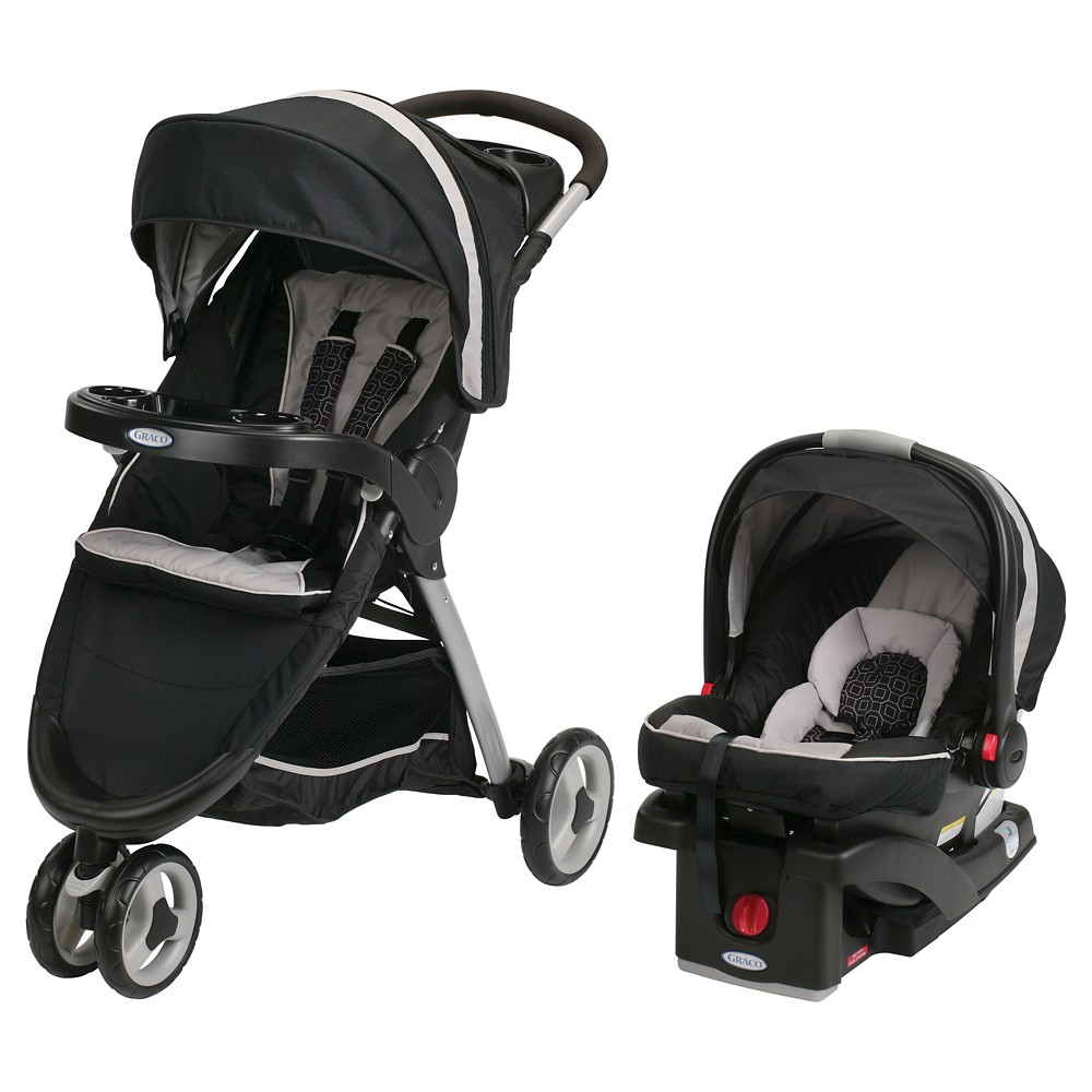 Graco Fast Action Sport Click Connect Travel System - Pierce