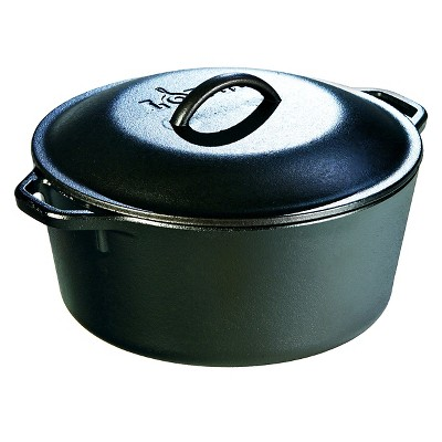 Lodge 5qt Cast Iron Dutch Oven