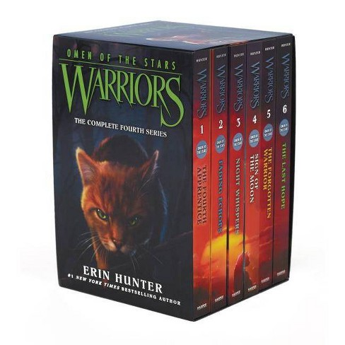Warriors: Omen of the Stars Box Set: Volumes 1 to 6 - by  Erin Hunter (Paperback) - image 1 of 1