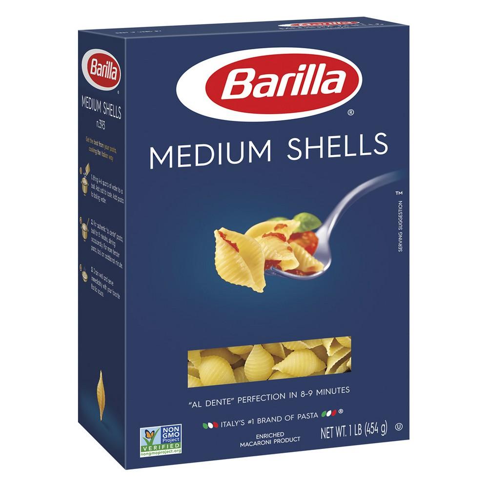 Medium Shells Pasta - 16oz - Barilla