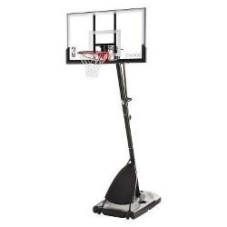 "Spalding NBA 54"" Acrylic Portable Basketball Hoop"