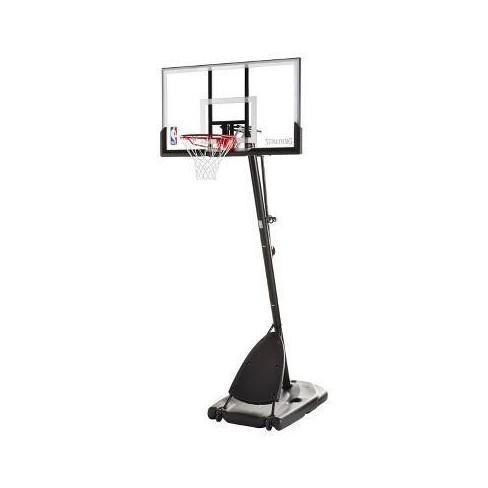 "Spalding NBA 54"" Acrylic Portable Basketball Hoop - image 1 of 3"