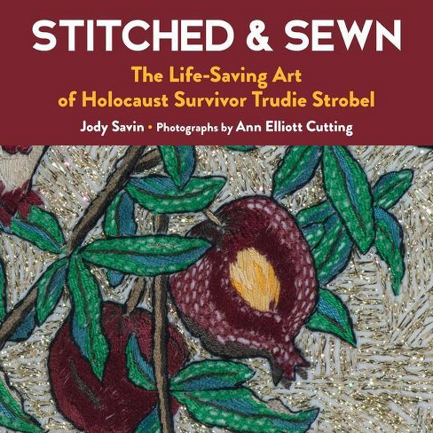 Stitched & Sewn - by  Jody Savin (Hardcover) - image 1 of 1