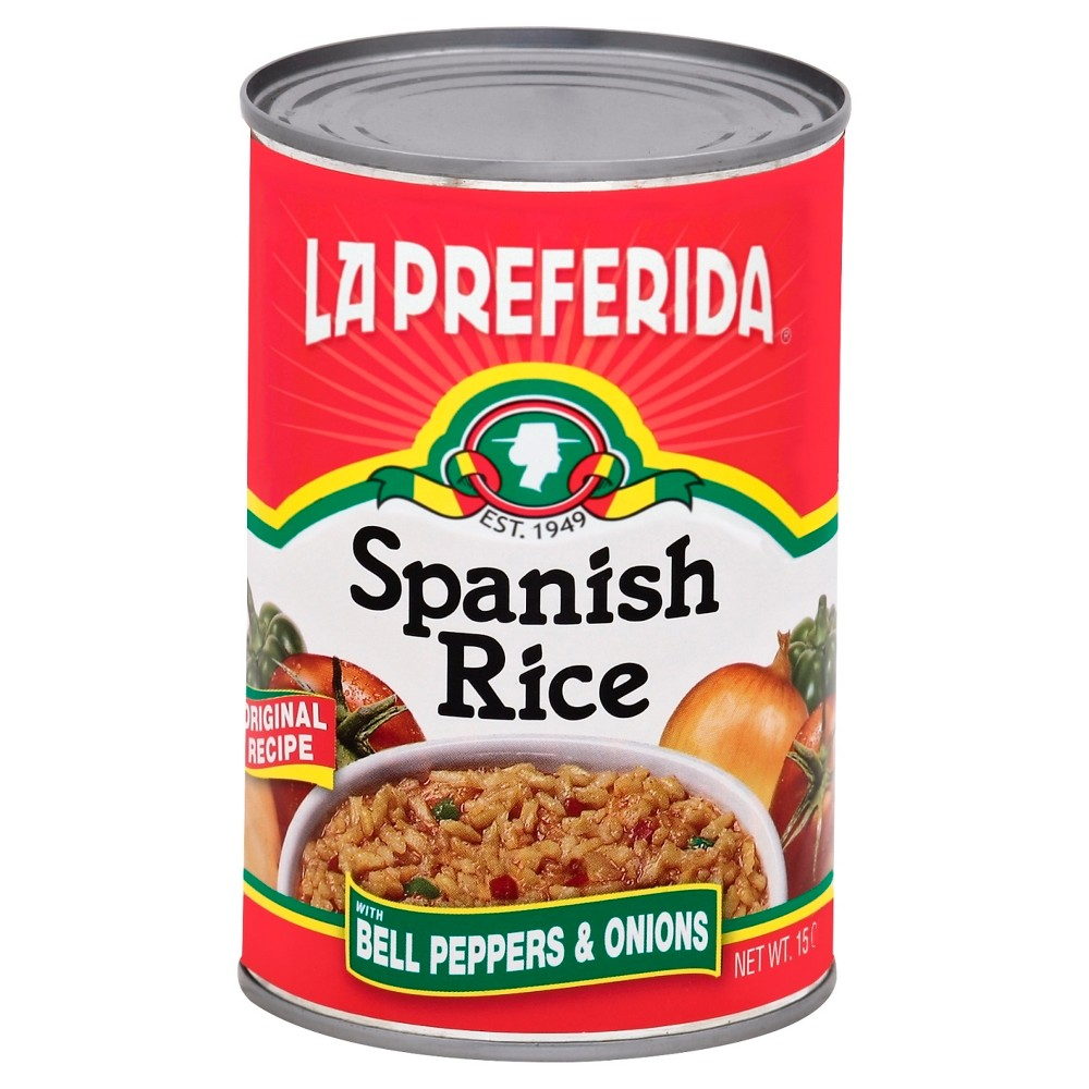 La Preferida Spanish Rice with Bell Peppers and Onions - 15oz