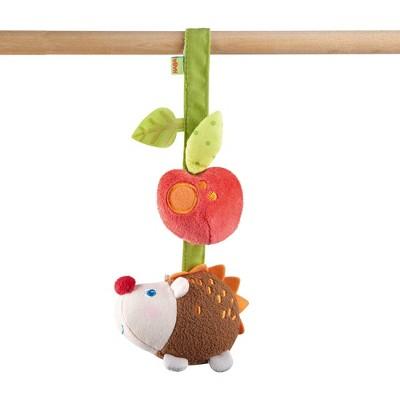 HABA Dangling Figure Hedgehog with Rattling and Crinkle Noises