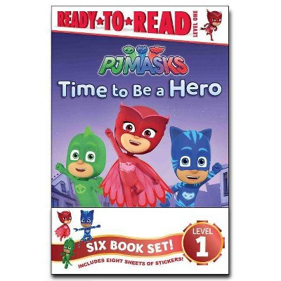 Pj Masks Ready-To-Read Value Pack - by  Various (Paperback)