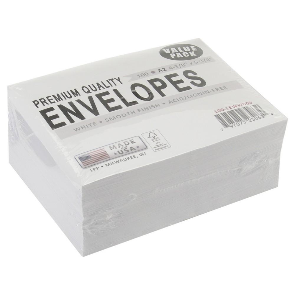 Image of Leader A2 Envelopes - 100 Per Pack