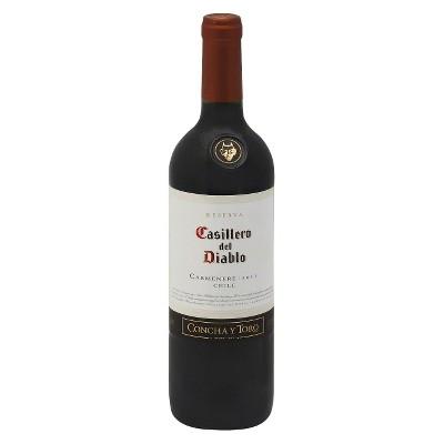 Casillero Del Diablo Carmenere Red Wine - 750ml Bottle