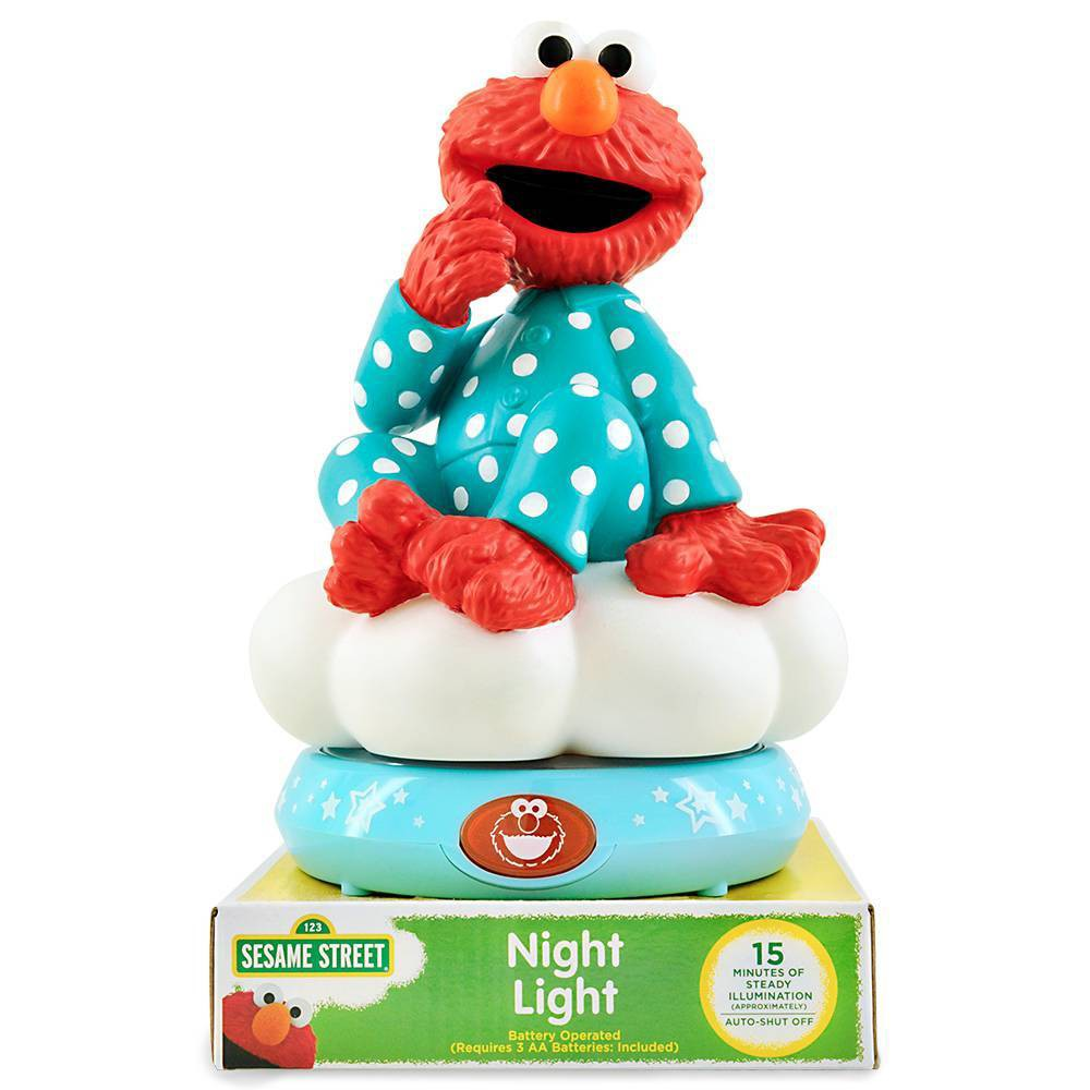 Image of Sesame Street Elmo Nightlight Red