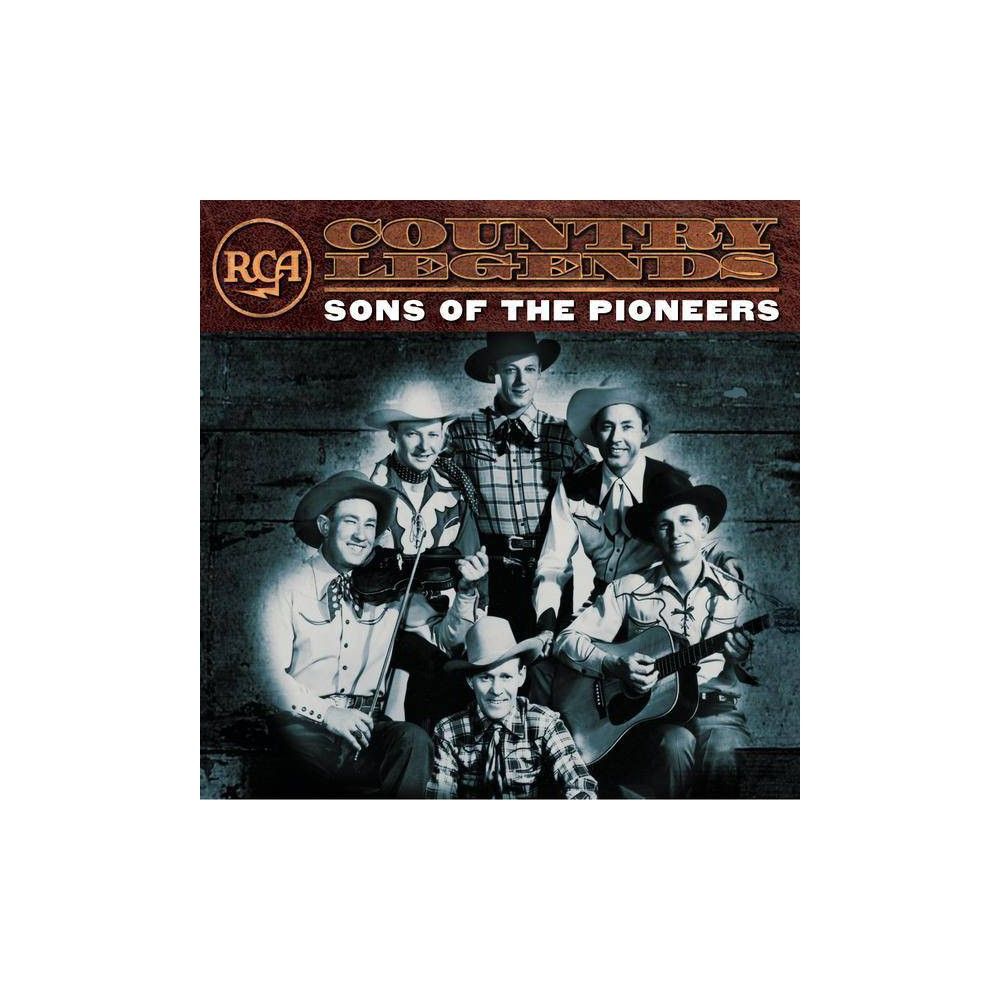 The Sons Of The Pioneers Rca Country Legends Cd
