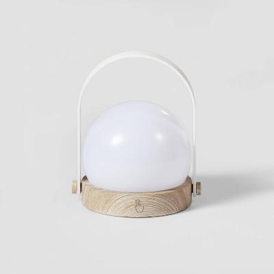 Portable Wood Nightlight White - Pillowfort™