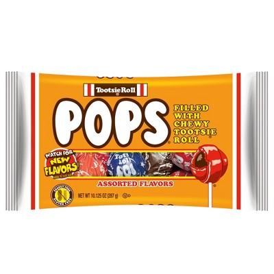 Tootsie Roll Pops Assorted Lollipops - 10.2oz