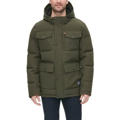 Levi's® Men's Arctic Cloth Quilted Parka Jacket