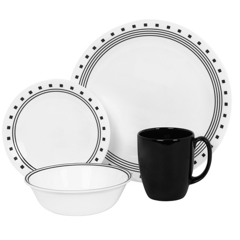 Corelle® Livingware™ 16pc Dinnerware Set City Block - image 1 of 1