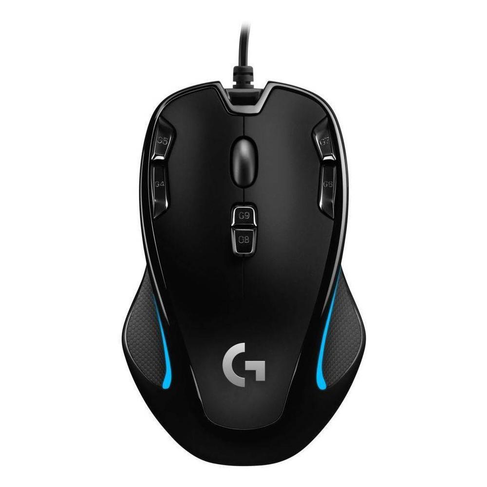 Logitech G300s Gaming Mouse, Black Logitech G300s Gaming Mouse Color: Black.