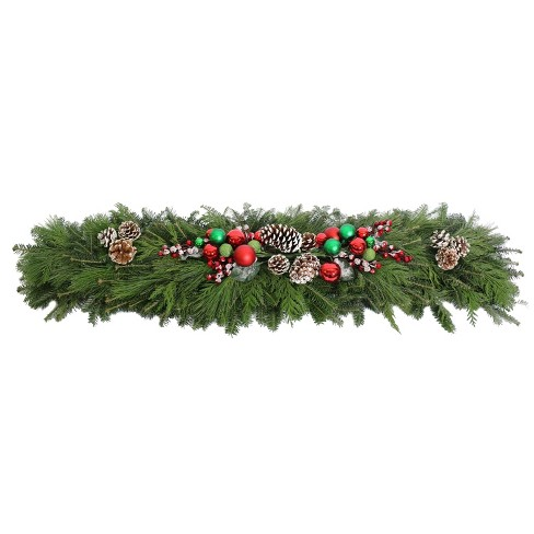 "48"" Holiday Cheer Mantelpiece Garland - National Plant Network - image 1 of 3"