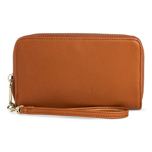 """Cell Phone Wallet 1.75"""" - A New Day™ Butternut Wood - image 1 of 2"""