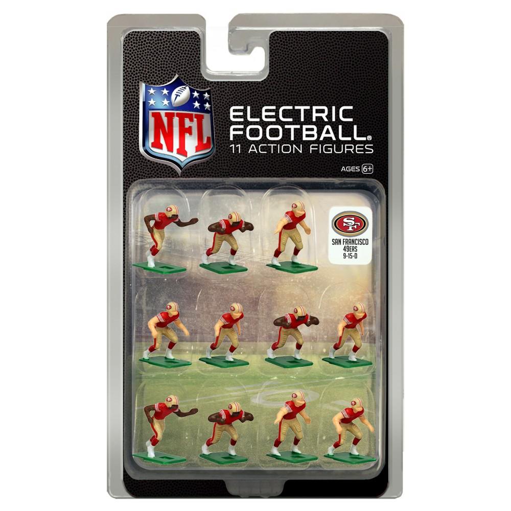 NFL San Francisco 49ers Tudor Games Home Uniform Electric Football Action Figure Set