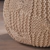 Anouk Knitted Cotton Pouf - Christopher Knight Home - image 4 of 4