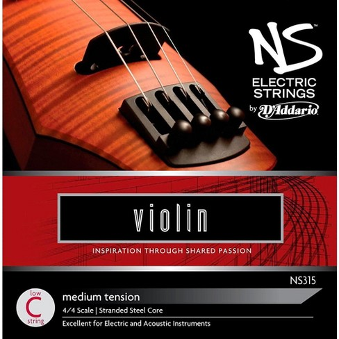 D'Addario NS Electric Violin String Low C - image 1 of 2