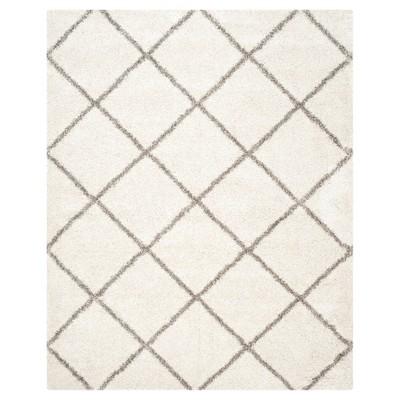 Hudson Shag Rug - Ivory/Gray - (8'X10')- Safavieh®