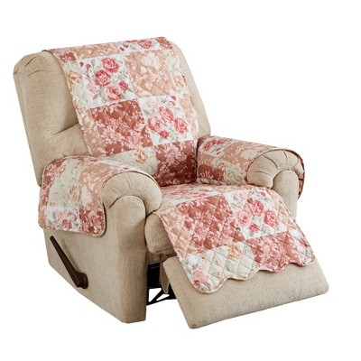 Great Bay Home Maribel Patchwork Recliner Furniture Protector