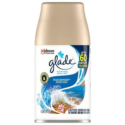 Glade Blue Odyssey Automatic Spray Refill - 6.2oz