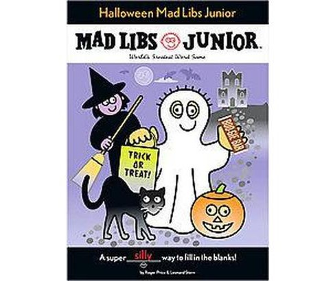 Mad Libs Junior : Halloween (Paperback) (Roger Price) - image 1 of 1
