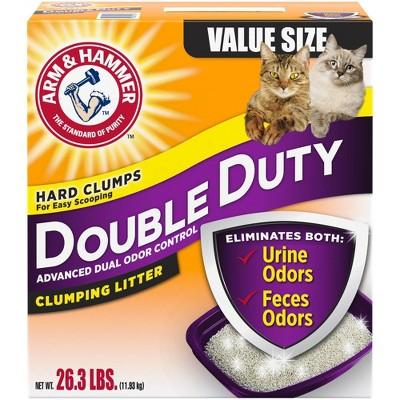 Cat Litter: Arm & Hammer Double Duty