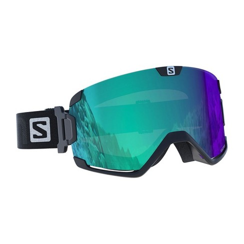 95f69f5d207 Salomon Cosmic Photo Black Over The Glass Fog Free Ski Snowboard Goggles  Gear
