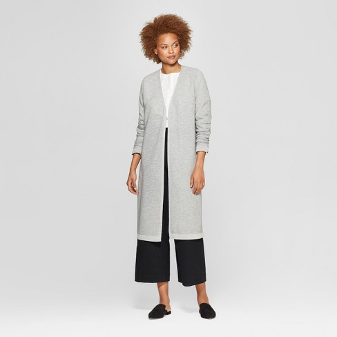 Women's Long Sleeve Front Open Cardigan - Prologue™ Gray - image 1 of 3